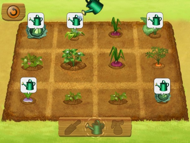 Harvest Moon Lil' Farmers | Growing Crops