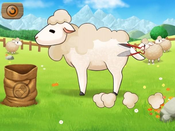 Harvest Moon Lil' Farmers | Shearing Sheep