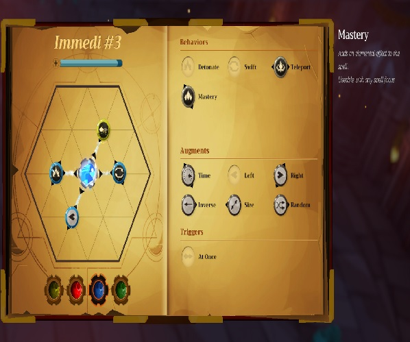 Mages of Mystralia | Spell system