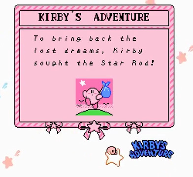 Kirby's Adventure | Story