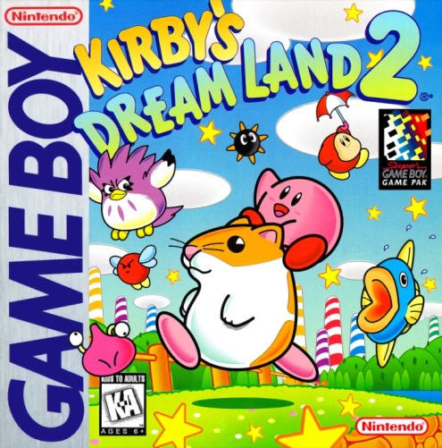 Kirby's Dream Land 2 | Boxart