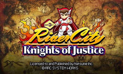 Knights of Justice | Title Screen