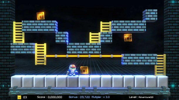 Lode Runner: Legacy   Adventure Mode.