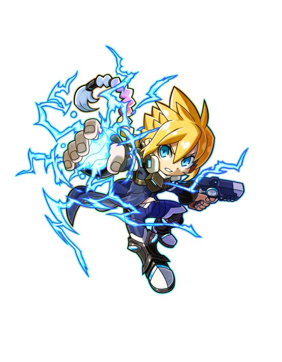 Mighty Gunvolt Burst | Gunvolt Art
