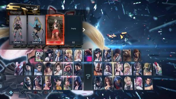 Tekken 7   Character Variety