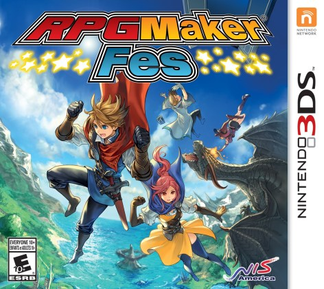 RPG Maker FES | Boxart