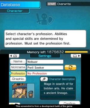 RPG Maker FES | Character editor