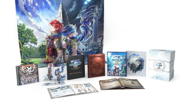 Nihon Falcom | Ys VIII: Lacrimosa of DANA Limited Edition