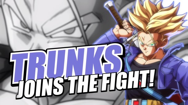 Dragon Ball FighterZ Trunks Announcement