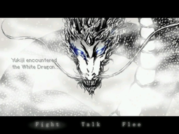 Yukie AJWFT | A white Dragon