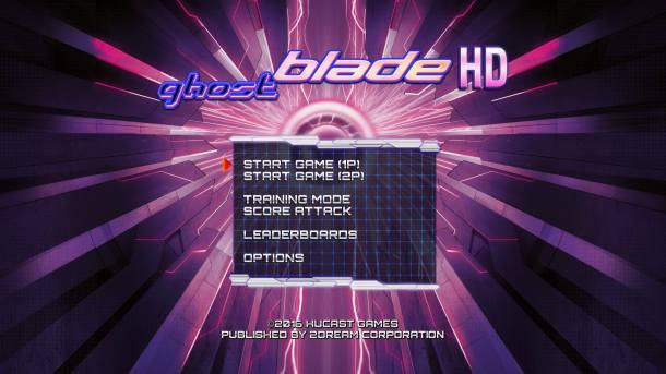 Ghost Blade HD | Main Menu