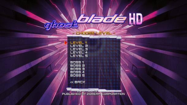 Ghost Blade HD | Training Mode