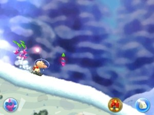 Hey! Pikmin | Snow Level