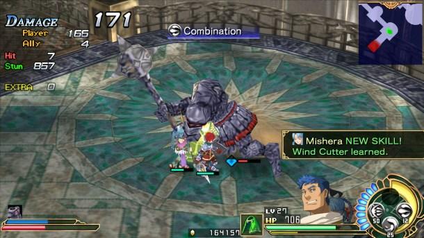 Ys Seven   Battle Screenshot