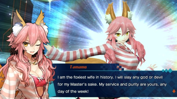 Fate/Extella | Foxy wife Tamamo