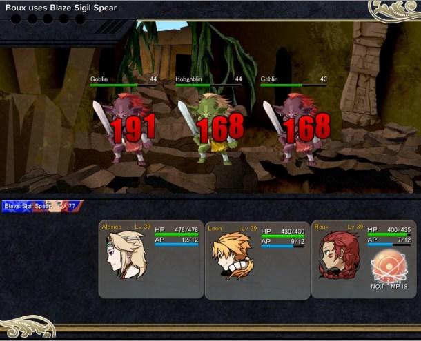 Lionheart | Battle screen