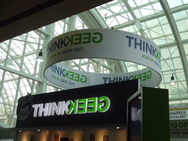 ThinkGeek Booth