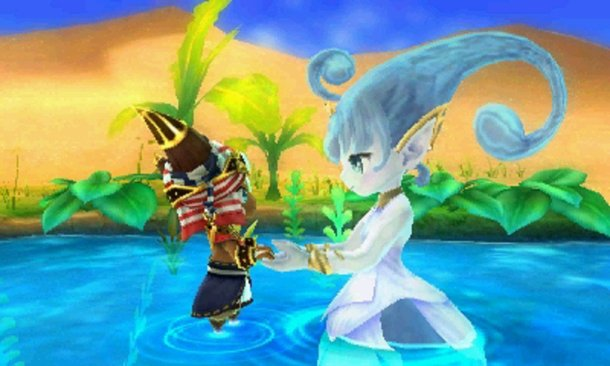 Ever Oasis | The beginning of a relationship