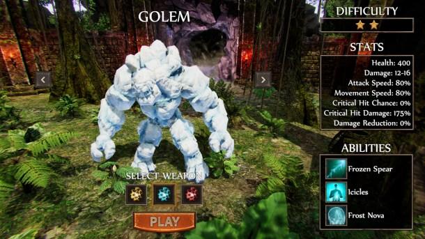 Pylon: Rogue | Golem
