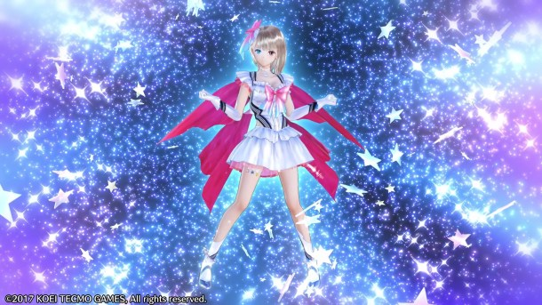 Blue Reflection | Transformation sequence