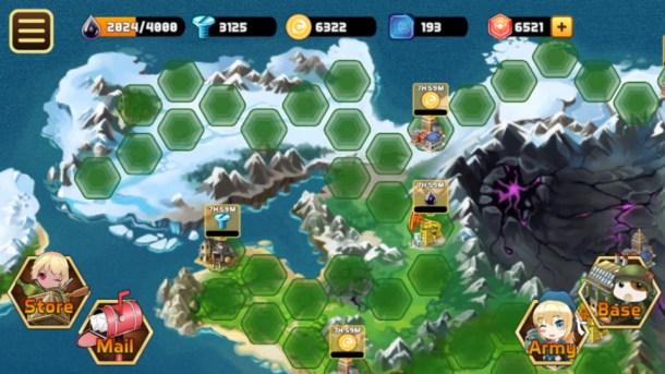 Armor Blitz   Map