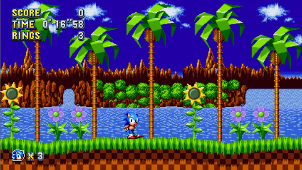 Sonic Mania | Green Hill Zone 1