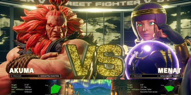 Street Fighter V | New Interface