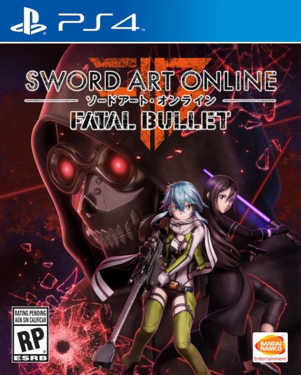 Sword Art Online: Fatal Bullet | PS4 Box Art