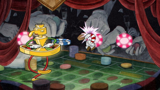 Cuphead | Casino fight