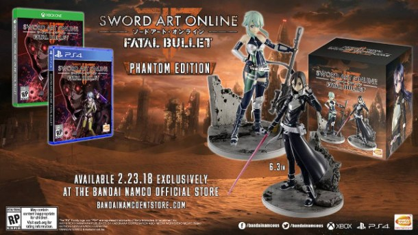 Sword Art Online: Fatal Bullet | Phantom Edition