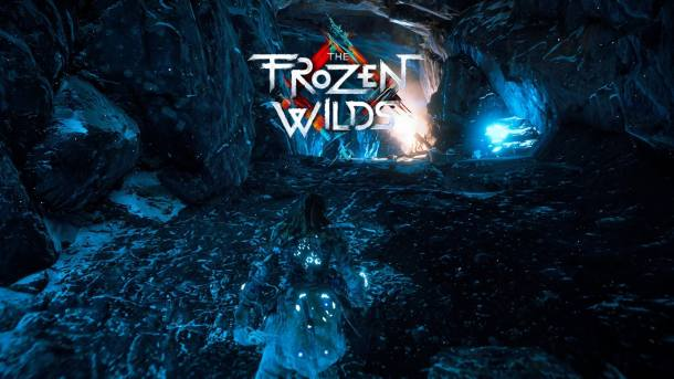 Horizon The Frozen Wilds Title Screen