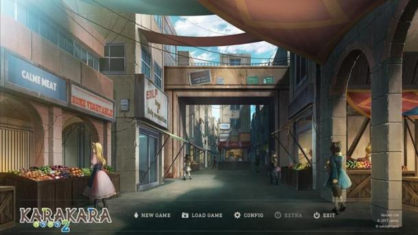 KARAKARA2 | Title