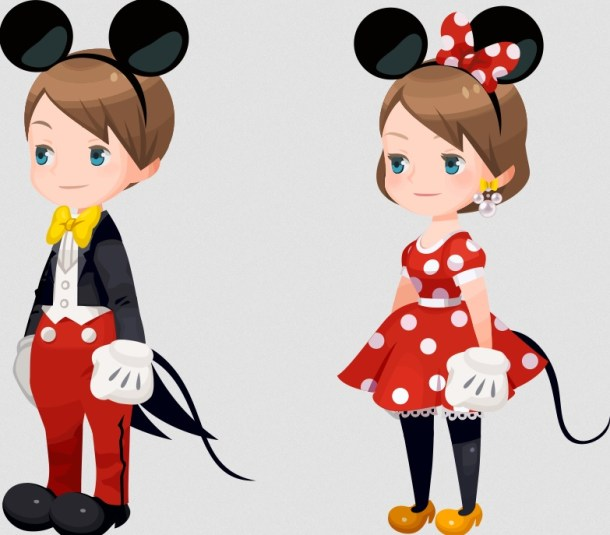 Kingdmo Hearts | Formal Mickey Outfits