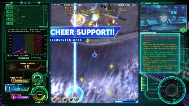 Raiden V Director's Cut | Cheer Support