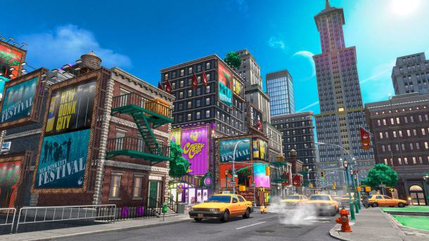 Super Mario Odyssey | New Donk City
