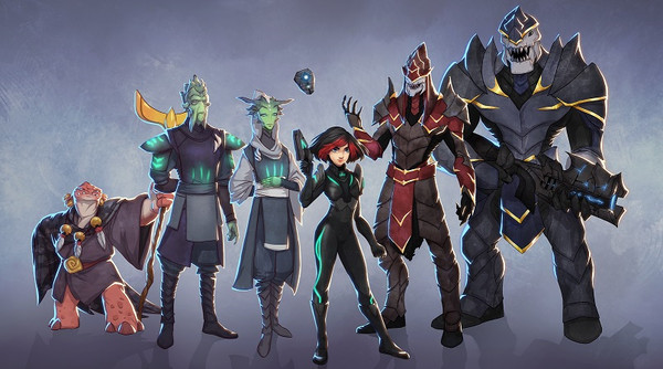 Dimension Drive | Roster
