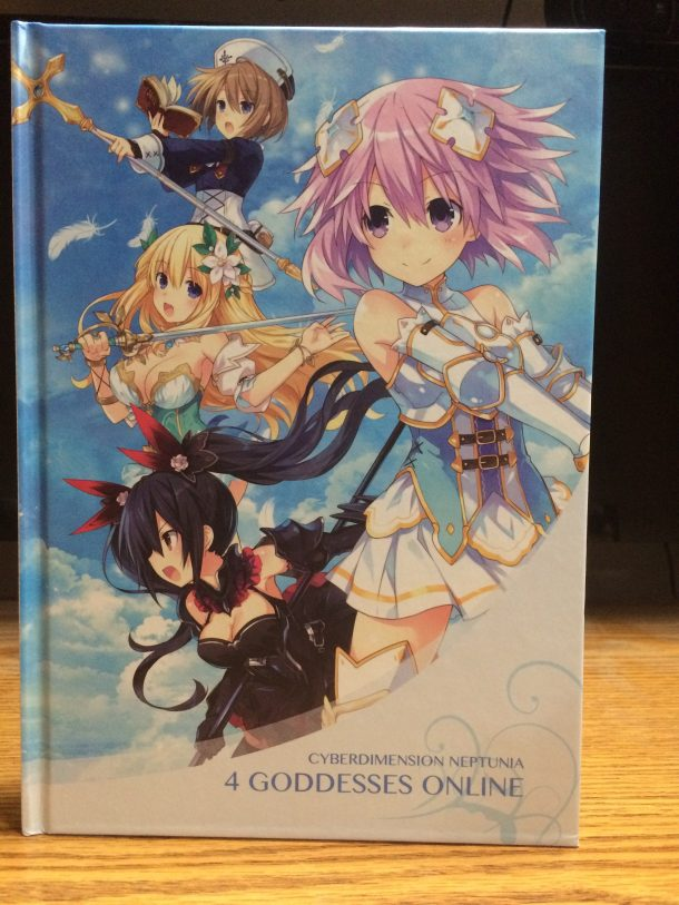 Corrupted Save | Cyberdimension Neptunia Limited Edition - Art Book