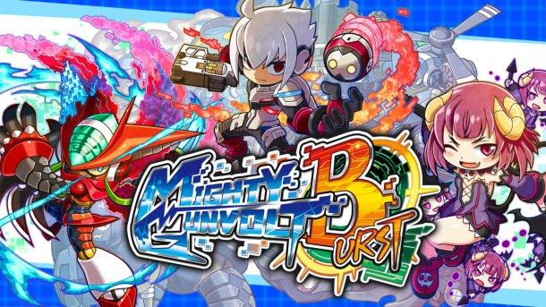 Mighty Gunvolt Burst | Rivals DLC Banner