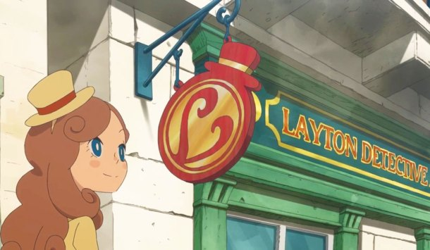 Professor Layton Anime