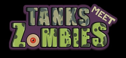 Tanks Meet Zombies | Logo Art