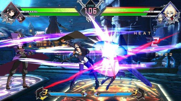 BlazBlue Cross Tag Battle Blake Gordeau gameplay