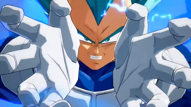Dragon Ball FighterZ SSGSS Vegeta Final Flash