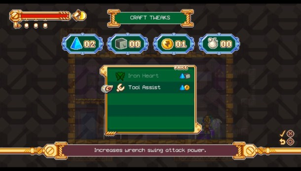 Iconoclasts | Tweaks