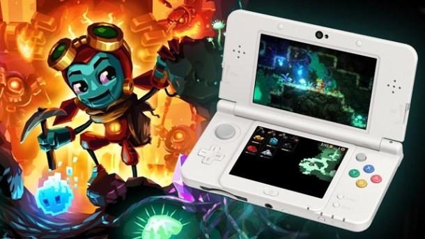 Nintendo Download | SteamWorld Dig 2 3DS