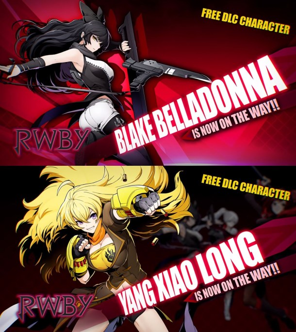 BlazBlue Cross Tag Battle Blake and Yang reveals