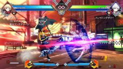 BlazBlue Cross Tag Battle Training in-game