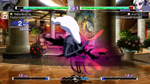 Under Night In-Birth Exe:Late[st] | Merkava and Vatista