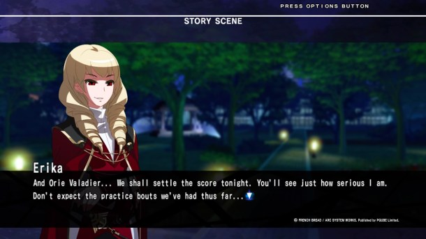 Under Night In-Birth Exe:Late[st] Wagner Arcade dialogue