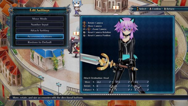 Cyberdimension Neptunia 4 Goddesses Online | Character Editor