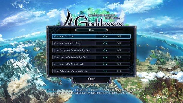 Cyberdimension Neptunia 4 Goddesses Online | DLC